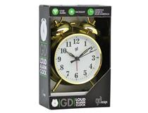 (BIG BEN) TABLE ALARM CLOCK GOLD