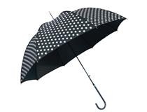 BLACK UMBRELLA BLACK WHITE PRINT