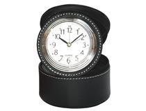 ROUND CASE W/RING COMPARTMENT BLACK