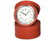 ROUND CASE W/RING COMPARTMENT RED