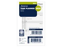 2020 Mini  Vertical year planner English