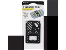 Financial Tool Multi Tool Wallet - Black