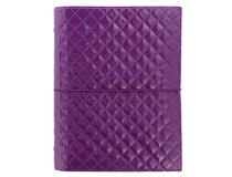A5 Domino Luxe Organiser Purple