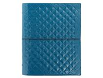 A5 Domino Luxe Organiser Teal