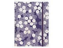 A5 Impressions Notebook Purple/White