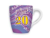CELEBRATION MUG - HAPPY 20