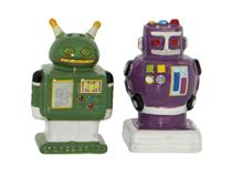 ROBOT SALT & PEPPER 2PCS