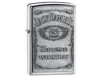 250JD.427 JACK DANIELS LABEL-PEWTER