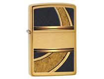 28673 GOLD AND BLACK - BRUSHED BRASS