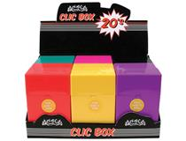 20s CLIC BOX COLOURS (12=1)