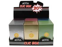 20s CLIC BOX METALLIC (12=1)