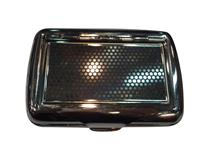 #100 TOBACCO TIN - BLACK MESH