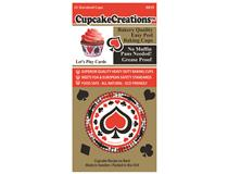 LETS PLAY CARDS CUPCAKE 32PCS