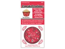 STD RED BANDANA CUPCAKE 32PCS