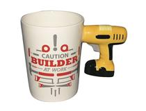 ELECTRIC DRILL HANDLE MUG