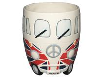 CAMPER VAN WITH FLAG MUG