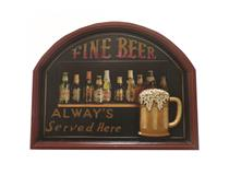 WALL PLAQUE FINE BEER