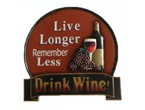 WALL PLAQUE LIVE LONGER