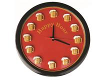WALL CLOCK HAPPY HOUR