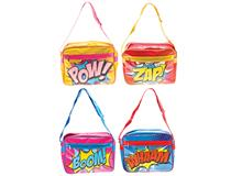 SUPER HERO MESSENGER BAG 4PK