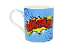 SUPER HERO WHAAM MUG