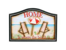 WALL PLAQUE BEACH HOME