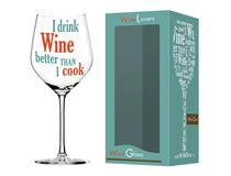 WINE LOVER COOK WINE GLASS