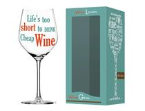 WINE LOVER LIFE WINE GLASS