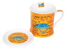 ZODIAC MUG & COASTER - CANCER