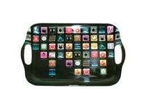 APPS MELAMINE TRAY SMALL