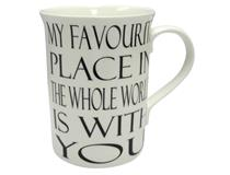 FAVORITE PLACE MUG
