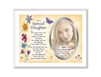 GLASS FRAME A SPECIAL DAUGHTER