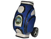 GOLF BAG MONEY BOX BLUE