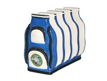 GOLF BAG TOAST RACK BLUE