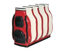 GOLF BAG TOAST RACK RED