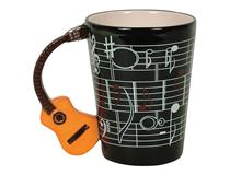GUITAR CUP BLACK NATURAL ACOUSTIC HANDLE