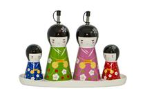 JAPANESE CONDIMENT SET O/V & S/P