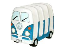 PEACE CAMPERVAN TOAST RACK BLUE