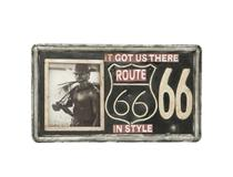 PHOTO FRAME LIC/PLATE ROUTE 66
