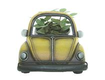 PLANTER - PEACE CAMPERVAN YELLOW