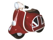 VESPA MONEY BOX ENGLISH FLAG