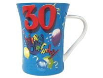 BISCAY PARTY AGE MUG 30 BOY