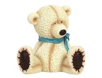 MAKIKO CREAM BEAR SITTING