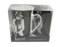 LEGENDS CAN MUG/COASTER-MICHAEL JACKSON
