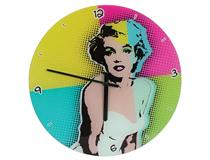 POP ART CLOCK - MARILYN MONROE