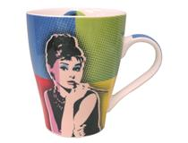 POP ART MUG - AUDREY HEPBURN