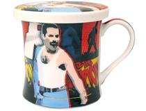 POP ART MUG & COASTER - FREDDY MERCURY