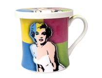 POP ART MUG & COASTER - MARILYN MONROE