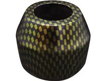 BULL. CARBON FINISH BOWL YELLOW
