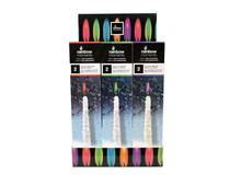 COLOUR FLAME ICICLE DISPLAY (12=1)